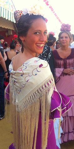 Feria2014 023 - R Spanish Eyes, Embroidery Art, African Fashion, Red Carpet, Gypsy, Crochet Earrings, Fashion Dresses, Dance, Boho