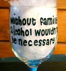 Funny Crafted/Painted Wine Glass/Glasses by PersonalizedbyCheryl, $11.95