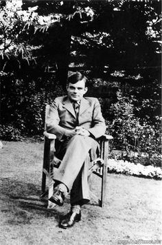 """""""We can only see a short distance ahead, but we can see plenty there that needs to be done."""" Alan Turing"""