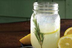 SHAKEN LEMONADE AT M STREET KITCHEN, SANTA MONICA, CALIFORNIA - Straightforward and refreshing, this Mason-jar drink mixes vodka, fresh lemon and rosemary