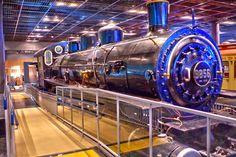 鉄道博物館9850形式蒸気機関車