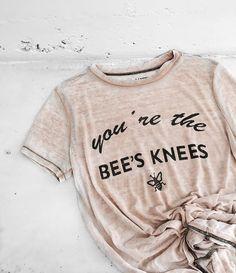 Bee's Knees {Beau} Crew tee | www.matethelabel.com