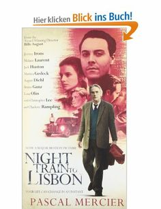 Night Train to Lisbon: Amazon.de: Pascal Mercier, Barbara Harshav