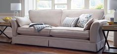 Keep things simple with the Ludlow 4 Seater Sofa | http://www.sofasofa.co.uk/ludlow/ludlow-4-seater-sofa.html