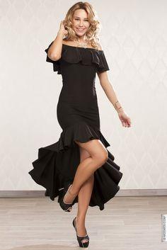 Robe longue noir taille 34, achat en ligne Robes longues femme sur MODATOI