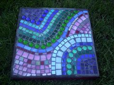 whimsy stepping stone by GardenDivaDeb, via Flickr