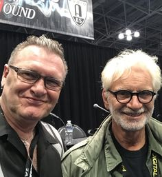 Joey Kelly w/ Jack Douglas  AES Convention 2017 NYC