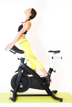 Do You Stretch On The Bike in Your Cycling Or Spinning Classes? Cycling Tips, Cycling Workout, Road Cycling, Cycling Quotes, Bicycle Workout, Spin Bike Workouts, Chest Workouts, Spinning Workout, Spin Bikes