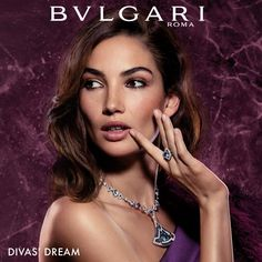 Discover exquisite and charming pieces of jewelry for timeless beauty. Known for shimmering diamonds and daring design, Bvlgari is recognized the world over. Purple Eye Makeup, Brunette Woman, Italian Beauty, Photography Women, Timeless Beauty, Cute Outfits, Amazing Outfits, Jewelry Collection