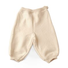 Infant Pants Natural White