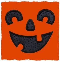 FREE Jack-o-Lantern Face Applique HAVE