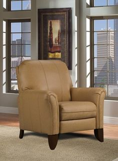 1603-Kranston by Southern Motion.  Can be special ordered in different fabrics.  It's a pushback!!  Would be a great chair for a couple that needed a compromise.