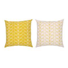 Orla Kiely - Large Linear Stem Cushion 50x50cm - Sunflower