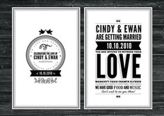 Elegant & Creative Wedding Invitations
