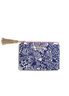 Lilly Pulitzer for Target Pouch with Tassle - Upstream