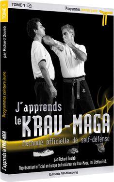 Livre J'apprends le Krav maga : Ceinture jaune