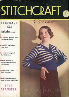 Subversive Femme: free vintage knitting pattern