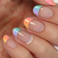Nail Design Video Tutorial Pastel Ombre
