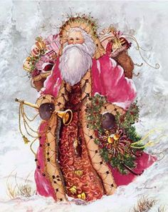 Father Christmas - great picture to use when writing a holiday letter, invites, etc.