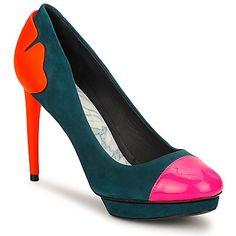Eine schöne #Pumpe #Schuhe von #Kenzo Leder