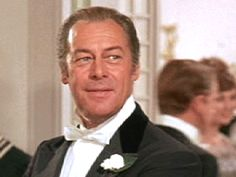 Rex Harrison.  Lancashire, England.  (March 5, 1908 - June 2, 1990)