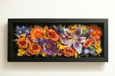 Transform an old bouquet into wall art with this tutorial.