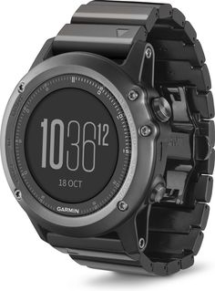A stylish training tool for the great outdoors Train, compete, explore and look great while you're doing it. Garmin's fenix 3 Sapphire GPS watch is ready to tackle the toughest