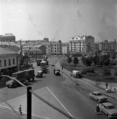 Москва, Таганская площадь после реконструкции, 1966г.