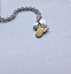 My Heart's in West Virginia Necklace
