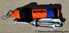 Palmetto Kayak Fishing: Quick release DIY kayak anchor system + bottle opener