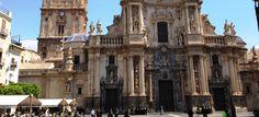 La Iglesia Catedral de Santa Maria Murcia, Santa Maria, Versailles, Building, Travel, Heavens, Viajes, Buildings, Destinations