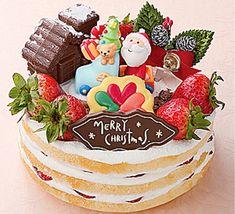 Japanese Christmas Cake ⭐️ #Japanese #Christmas #Cake