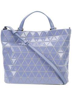BAO BAO ISSEY MIYAKE Crystal Gloss tote. #baobaoisseymiyake #bags #hand bags #polyester #tote #crystal #