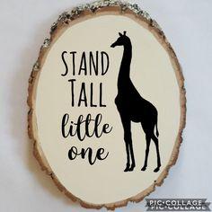 Giraffe Nursery Zoo Animal Jungle Nursery African Safari Nursery Stand Tall Litte One Safari Jungle Baby Shower Nursery Decor Wood Sign Baby Giraffe Nursery, Zoo Nursery, Baby Shower Giraffe, Boy Baby Shower Themes, Baby Shower Gifts, Nursery Decor, Nursery Ideas, Baby Decor, Jungle Theme Nursery