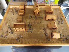 "Image result for ""sand table"" wargaming Sand Table, Butcher Block Cutting Board, Studio, Image, Sandbox, Studios"