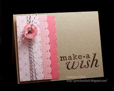 LOVE the layout! Such a simple yet pretty card!!
