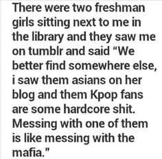 LOL! Of course we are.. Were totally gonna cut you cuz that's totally what we do :P jk but kpop fan is definitely a good title :D
