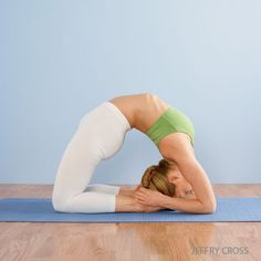 King Pigeon Pose: Major benefit for the entire front of the body, the ankles, thighs and groins, bdomen and chest, and throat