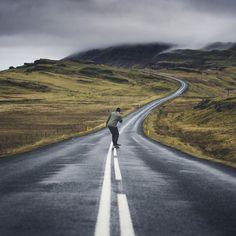 Road Neverending Iceland