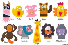 40 Ideas para Marionetas o títeres de dedo – Little Post