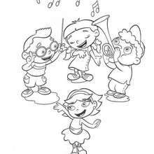 musical little einsteins coloring page coloring page disney coloring pages