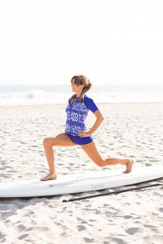 Tone your lower body at the beach, get a full body workout at the beach  #sponsored