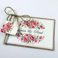 Invitaţie de nuntă Rustica/ Rustic Wedding invitation  http://www.designbyclarice.ro/invitatii-de-nunta.html