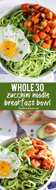 Zucchini Noodle Brea