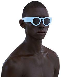 acne studios - Sigmund light blue/navy