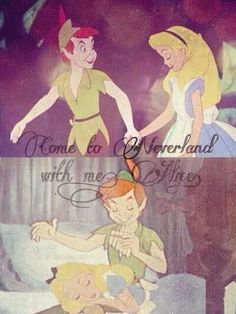 Peter Pan and Alice in wonderland --- in the amount of time it took me to look at this photo I acquired a new ship.