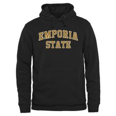 Emporia State Hornets Everyday Pullover Hoodie - Black