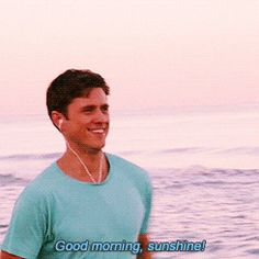 Good morning sunshine! (gif) I love him and everyone should watch him in Graceland it's a great show.