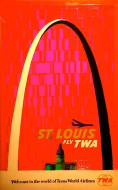 From the TWA days  I love these vintage prints!