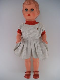 Schildkröt Puppe Karin 45 cm mit Stimme für den Puppendoktor (611)   eBay